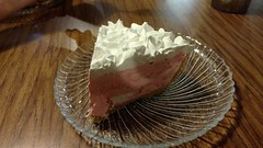 Strawberry Cream Pie (jimmywayne) Tags: tomandsusies tom susie holbrook arizona diner strawberry cream dessert pie navajocounty food ate