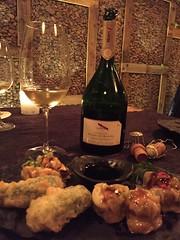 Mumm y sushi (vinosymaridaje) Tags: mumm champagne espumoso shushi madrid yugodebunker
