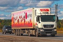 MAN TGS19.400  B 003 HX 33 (RUS) (zauralec) Tags: kurgancity therouter254irtysh transport company kdv кдв курган трасса р254 иртыш man tgs19400 b 003 hx 33 rus