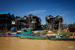 Village flottant  Kompong Phluk sur le lac Tonl Sap (Aurlie Jouanigot) Tags: lac tonlsap floatingvillage northouest cambodge villageflottant lake kompongphluk cambodia tonlsap