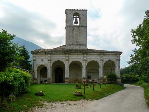 La chiesa della Madonna Bianca ad Ancarano