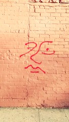 Face (ShellyS) Tags: graffiti walls brick buildings queens nyc newyorkcity faces