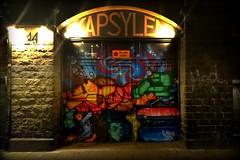 Kapsylen. (Papa Razzi1) Tags: 8244 2016 309365 kapsylen gate door southside stockholm autumn november