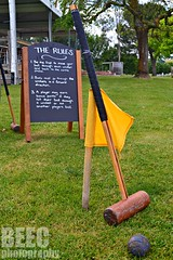 Croquet (BEE.C Photography) Tags: croquet chalkboard yarrawood yarra valley yarravalley winery wine games sports