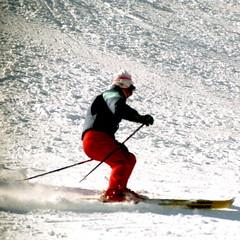 Perfect Execution (wordman760) Tags: grayrocks skiing ski downhill snoweagleskischool sports saintjovite monttremblant laurentians laurentides québec canada winter snow sugarpeak outdoors csia level4 35mm