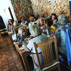 Lovely ladies lunching! #capepe #moraira