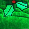 _seasons greetings_stitch (NadzNidzPhotography) Tags: design pattern yarn threads join darn hem seam tack baste sew nadznidzphotography macromondays stitch seasonsgreetings green outdoor season greetings ornaments christmas xmas
