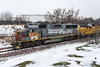glimpse of the past (dan mackey) Tags: southernpacific emd gp60 up1080 itasca transfer superior wisconsin superiorwisconsin eastend