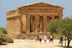 Temple of Concord (harve64) Tags: museo archeologico agrigento sicily italy ancientruins greek temple archaeology museum concord