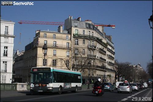 Renault Agora S - RATP (Régie Autonome des Transports Parisiens) / STIF (Syndicat des Transports d'Île-de-France) n°7283