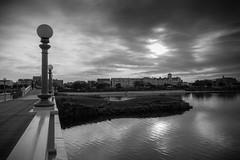 Morning Light (tabulator_1) Tags: marinelake southport blackwhite blackandwhite