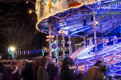 Christmas in Cardiff (ifanjames) Tags: waltzers longexposure lighttrail fairground winterwonderland cardiff caerdydd wales cymru christmas nadolig christmasmarket