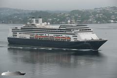 Rotterdam (Aviation & Maritime) Tags: rotterdam hal hollandamericaline cruise cruiseship bergen norway