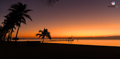 Florida Life: Marmalade Sky (Thncher Photography) Tags: sony a7r2 sonya7r2 ilce7rm2 zeissfe1635mmf4zaoss fx fullframe scenic landscape waterscape oceanscape nature outdoors sky colors sunrise reflections shadows silhouettes tropical island beach palmtrees pier themoorings islamorada matecumbekey floridakeys overseashighway florida southflorida atlanticocean