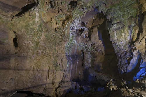 Inside Bacho Kiro Cave, 11.10.2014.