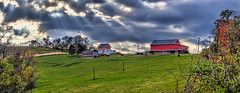 IMG_1787-89Ptzl1scTBbLGER (ultravivid imaging) Tags: ultravividimaging ultra vivid imaging ultravivid colorful canon canon5dmk2 fields farm barn autumn autumncolors scenic rural vista stormclouds clouds