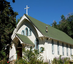 Our Lady of Perpetual Help (Colorado Sands) Tags: church christian christianity religious colorado manitousprings usa sandraleidholdt cross building architecture exterior catholicchurch ourladyofperpetualhelp catholicdioceseofcoloradosprings coloradosprings