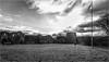 Barnard Castle . (wayman2011) Tags: fujifilmxt10 lightroom wayman2011 bwlandscapes mono castles historicbuildings historicsites flags pennines dales teesdale barnardcastle countydurham uk