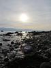 6364 A watery sun over Eryri - Snowdonia (Andy - Busyyyyyyyyy) Tags: 20161105 aaa aberlleiniog backlit bbb boulders menaistraits mmm ripples rocks rrr sss water wavelets www
