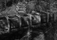 Leaky conduit (Tim Ravenscroft) Tags: blackandwhite monochrome mabry mill virginia usa