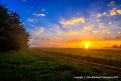 Revival (T i s d a l e) Tags: tisdale revival sunrise farm field autumn fall october 2016 easternnc