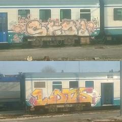 #stolenstuff #graffitiblog #check4stolen #flickr4stolen #shy #lods #graffititrain #bolognagraffiti #check #benching #graffiti #spotting #464 (stolenstuff) Tags: instagram stolenstuff graffiti graffititrain benching