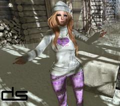 ~259~ Snow Days (αиα ¢αραℓιиι) Tags: secondlife fashion maitreya catwa wowskins tableauvivant twe12ve 1hundred designershowcase ikon wwinx