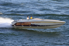 Running into the port (taddzilla) Tags: wellcraft scarab boat water waves outofthewater fiberglass atlanticocean porteverglades florida 2016 allrightsreserved
