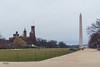 A gray day on the Mall (erikcoxphotography) Tags: washingtondc washingtonmonument smithsoniancastle gray bleh