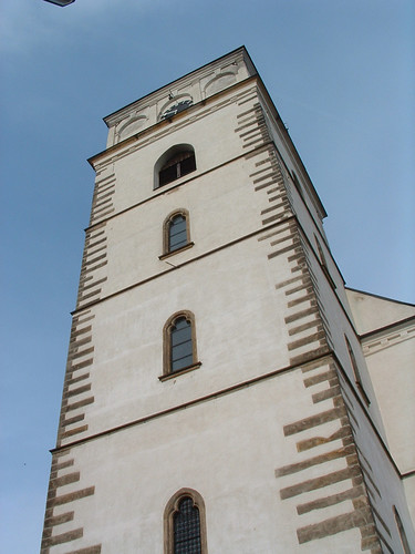 Sobotka, Gótikus templom tornya