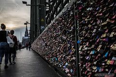 Pont de Cologne (La vadrouille) Tags: cadenas pont photokina cologne köln