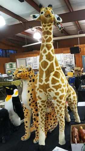 Melissa and Doug giant size stu ed animals including 4' Giraffe, Tiger and Leopard ($106.40, $201.60)