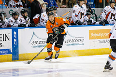 "Missouri Mavericks vs. Quad City Mallards, December 31, 2016, Silverstein Eye Centers Arena, Independence, Missouri.  Photo: John Howe / Howe Creative Photography • <a style=""font-size:0.8em;"" href=""http://www.flickr.com/photos/134016632@N02/32090839585/"" target=""_blank"">View on Flickr</a>"