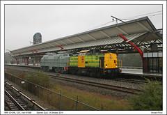 RRF 20+SKL 1201 - Diemen Zuid - 91998 (14-10-2014) (Vincent-Prins) Tags: v100 20 1201 diemen zuid rrf 91998 stichingklassiekelocomotieven
