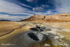 Geothermal Area with mud pot