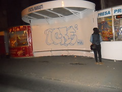 ICRE (ycre) Tags: bus art up station de graffiti la si stop romania throw stops timisoara oameni icre muie cacat gabori ycre
