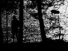 watcher (BadMoodyNurse) Tags: sunset sea blackandwhite bw sunlight white man black male contrast boat blackwhite seaside alone sundown silhouettes croatia wb bol seaview whiteandblack zlatnirat bolislandofbrac