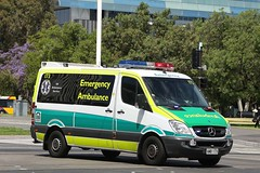 SAAS Ambulance 173 (adelaidefire) Tags: mercedes benz south australian ambulance service sa saas sprinter