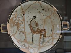 Coppa attica a fondo bianco Pittore di Lyandros (adrianovero) Tags: firenze museoarcheologiconazionale