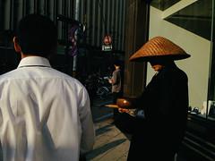 Sapporo, Hokkaido, 2014 (librarymook) Tags: street light sunset japan japanese sapporo hokkaido shadows candid streetphotography documentary pedestrians dailylife reportage odori 2014 mobilephotography iphone5 procamera vsco vscocam procamera7
