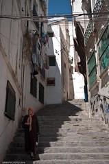Casbah d'Alger (Graffyc Foto) Tags: africa algeria nikon foto d north du unesco 300 algerie casbah f28 escalier nord afrique algiers kasbah alger 1755 ruelles habitants graffyc
