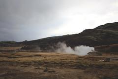 Iceland (Annalee Barclay) Tags: blue mountain nature volcano iceland lagoon reykjavik glacier nordic geyser scandinavia geysir bluelagoon northernlights auroraborealis