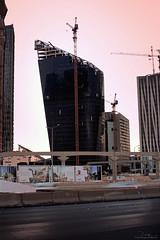 Tadawul Tower at KAFD Nov-14-14 (Bader Alotaby) Tags: tower skyline architecture skyscraper photography construction nikon king cityscape riyadh saudiarabia bader abdullah d7100 kafd