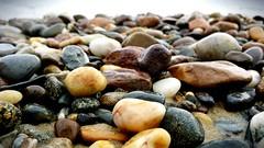Beach rocks (shutterbugmin) Tags: cameraphone macro beach nature rocks capecod neutralcolors cellphonephotography