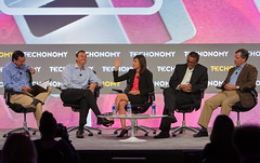 Having Fun at Techonomy 14 with the FCC and Ford on Robot Futures (jurvetson) Tags: moon ford work john fcc bay washington panel jessica employment ken foundation future half ritz philip ai nyt markoff hmb 2014 merkle rosenworcel te14 zelikow techonomy