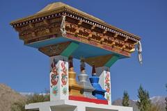 stupa (thupstan_rin) Tags: gate stupa buddhism ladakh