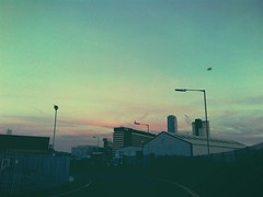 (kelvinmah_justtoreveal) Tags: sunset sky set evening merseyside iphone4