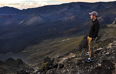 Haleakala Crater Sunrise (Gene Tobia) Tags: sunrise volcano maui haleakalanationalpark haleakalacrater mauihaleakalacrater