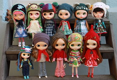 My current Blythe collection