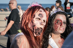 Zombie Girl (H. Evan Miller) Tags: newjersey zombie sony asburypark nex zombiewalk hevanmiller nex6